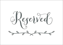Reserved Signs Templates Reserved Signs For Tables Free Templates Marvelous Free Printable