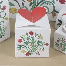 Floral Design Gift Boxes Amazon Com Four Floral Design Favor Boxes Party Favor