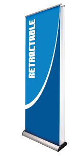 Retractable Display Stands Deluxe 100 x 100 Banner Stand in Las Vegas PosterHead Signs 10