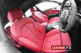 audi 2015 a7 red. automotive leather audi 2015 a7 red