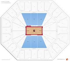 Colonial Life Arena Lower Level Side Basketball Seating