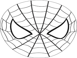 super hero mask template spiderman mask printable coloring page for pages 780239 1024x768 super hero mask template clipart panda free clipart images on supergirl emblem printable