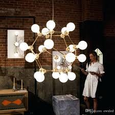 atom lamp molecular atom chandeliers lighting modern novelty pendant lamp natural tree branch suspension light hotel