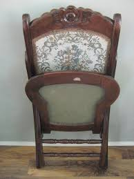 awesome antique victorian wood folding rocking chair dedfdfd image of wooden trends and identification ideas antique
