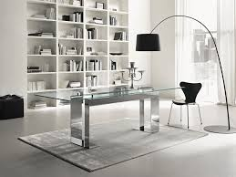 office glass desks. Home Design Modern Office Glass Desk Industrial Compact For With Regard To Proportions 1024 X Desks