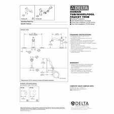 beautiful bathtub faucet installation instructions images the best with delta tub faucet installation