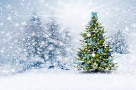 christmas tree snow winter forest design by marika new year christmas  winter christmas tree snow forest
