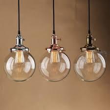 industrial pendant lighting. Image Is Loading PATHSON-VINTAGE-INDUSTRIAL-PENDANT-LIGHT-GLASS-GLOBE-SHADE- Industrial Pendant Lighting A