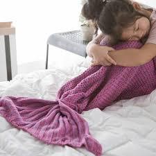 Pin by Aurelia Wolfe on Art in 2020 | Kids mermaid blanket, Acrylic  blanket, Knit mermaid blanket