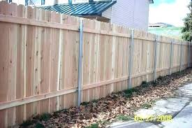 how to strengthen fence posts without pouring concrete installing wooden