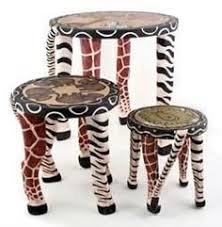 Image Dining Room How Cool Are These Love The Three Different Sizes African Themed Living Room Pinterest 1314 Best African Furniture Images In 2019 African Home Decor