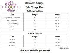 Tutu Measurement Chart 53 Best Tutu Sizing Charts Images Tutu Diy Tutu Tutu