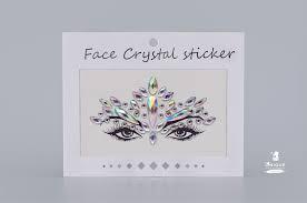 Стразы-<b>наклейки Face</b> Crystal YT27