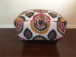 multicolored ottoman for sale in raleigh nc  item mer  trove