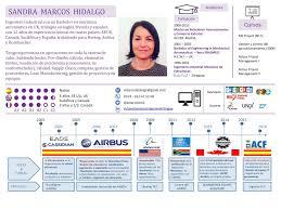 Plantilla De Cv Estilo Infografia 100 Editable Y Gratis