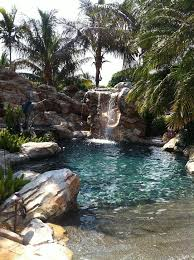 Custom Lagoon Swimming Pool Designed and Built by U.S. Pool, with beach  entry, extra