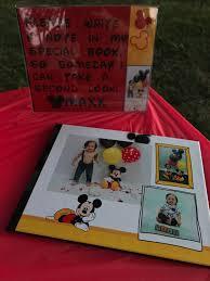 Mickey mouse birthday, Birthday book ...