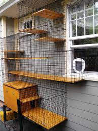 cat houses outdoor plans and enclosed litter box in an outdoor cat enclosure beautiful world