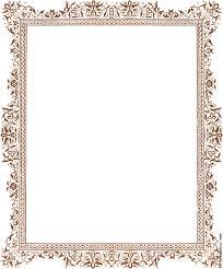 Vintage frame border design Line Frame Borders Designs Images Clipart Library Transparent Vintage Frameborder Frame Border Flower Borders