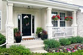 how to spruce up your front porch