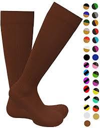 Knee High Graduated 15 20mmhg Compression Socks For Nurses