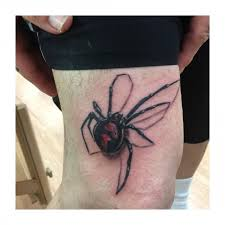 Beautiful Black Widow Spider Tattoo This Year Handandbeak