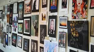Teen art show is held