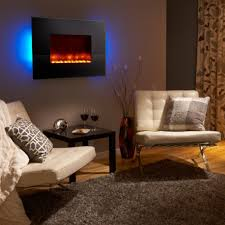 image of contemporary electric fireplaces wall mount