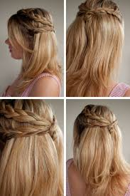 Wedding Half Up Hairstyles Half Up Half Down Wavy Hairstyle Loveliest Updo Hairstyles For