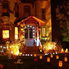 child friendly halloween lighting inmyinterior outdoor. Exterior Medium Size Outside Halloween Decorations Ideas Image Of Homemade. Home Designer. Child Friendly Lighting Inmyinterior Outdoor E