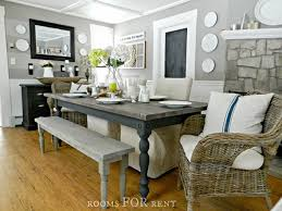 farmhouse dining table rooms for