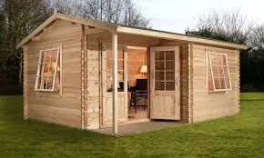 home office cabins. Log Cabin Review Waltons Greenacre Home Office Executive Best Garden Buildings UK Cabins