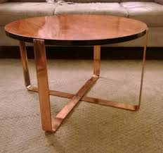 elegant round copper coffee table with coffee table copper coffee tables copper coffee tables from