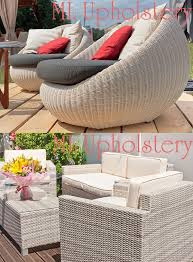 outdoor furniture with patio cushions