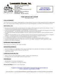 resume fine dining server resume restaurant resume restaurant server