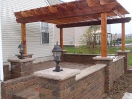 paver patio with pergola. Interesting With Dublin Ohio Paver Patio  Cedar Pergola  Design In With R