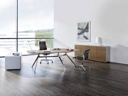 director desk design for work space office joshta home designs attractive dark brown finish varnished wooden attractive modern office desk design