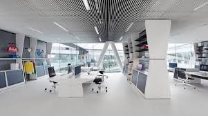 office space architecture. KINZO Develops An Office Space Architecture T