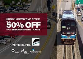 Metrolink Ticket Vending Machine Interesting San Bernardino Line Fare Discount