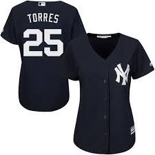 Torres Yankees Gleyber New Women's 2019 Coolbase Jersey Navy York