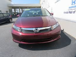 2012 Used Honda Civic Sedan 4dr Automatic LX at Honda Mall of ...