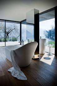 Bathroom: Modern Bathroom With Nature View - 15 Most Beautiful ...
