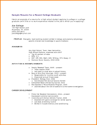 College Student Resume Examples Summer Job College Student Resume Examples Summer Job 24 College Student Resume 11