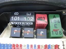 fuel 1997 volvo 850 wagon project 2002 XC70 Fuse Box Fuse Box Volvo 850 #32