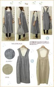 Japanese Apron Pattern Unique Fog Linen Apron Dress Projects To Try Pinterest Apron Dress