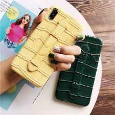 Fashion crocodile <b>wristband bracket phone case</b> for iphone 11 Pro ...
