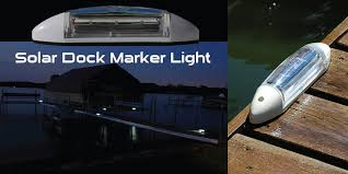 led dock lights. H2-LED Solar Dock Marker Light Led Lights