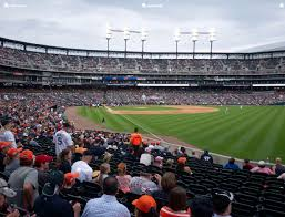 Detroit Tiger Stadium Seating Chart With Rows Comerica Park Section 113 Seat Views Seatgeek