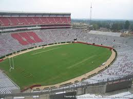Alabama Seating Chart Bryant Denny Bryant Denny Stadium View From Section U4 Bb Vivid Seats