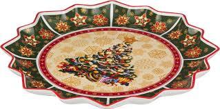 Блюдо <b>Lefard Christmas Collection</b>, диаметр 38 см. S3034-10D117G